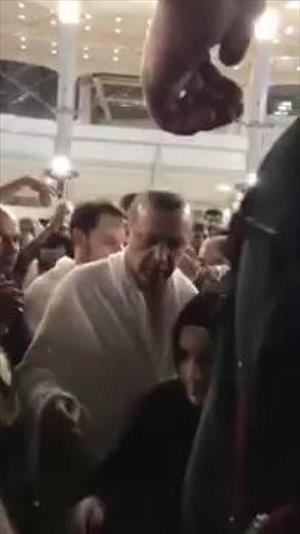 Cumhurbaşkanı Erdoğan, Kabe'nin içini ziyaret etti