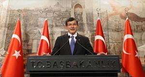 Davutoğlu Avrupa Dış İlişkiler Konseyi heyetini kabul etti
