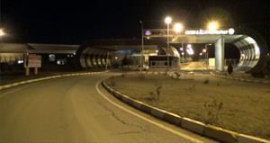 Batman Havalimanı'na 2 adet havan topu düştü