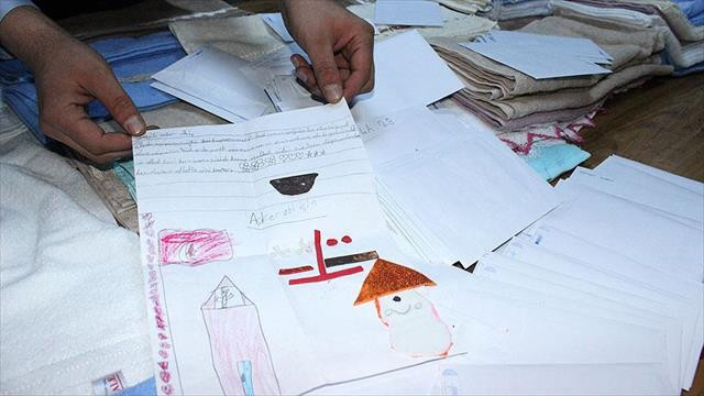 Trabzon'dan Diyarbakır'daki Mehmetçik'e 10 bin mektup