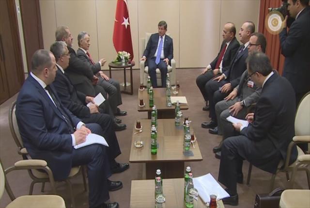 Kırım Tatarlarının Lideri ile görüştü