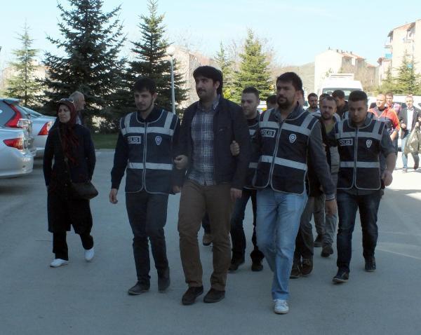 Yozgat merkezli 'paralel yapı' operasyonu şüphelileri adliyede