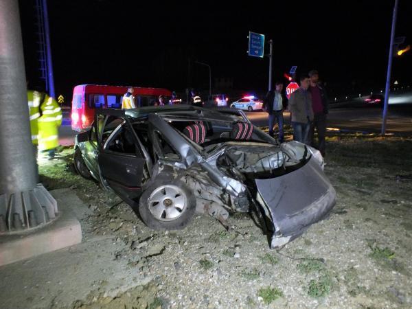 Yozgat'ta kaza: 1 ölü, 1 yaralı