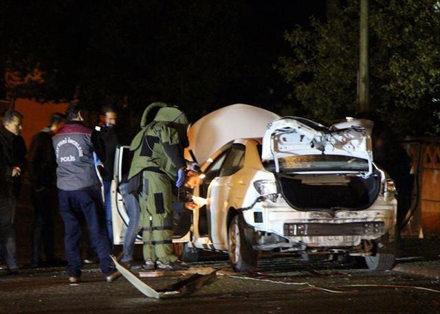 Bolu'da şüpheli araç fünye ile patlatıldı