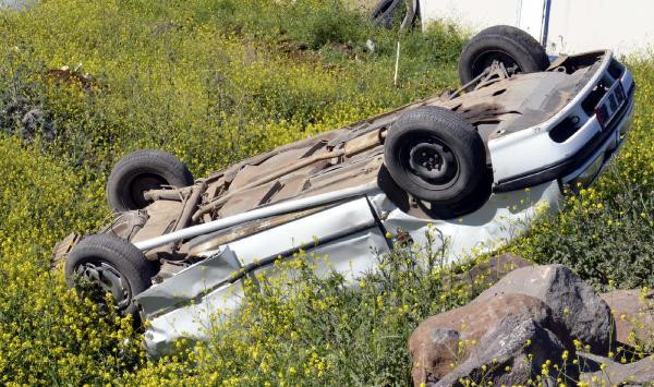 Siverek'te kaza: 4 yaralı