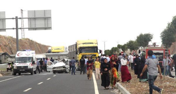 Şanlıurfa'da iki kazada 4 kişi yaralandı