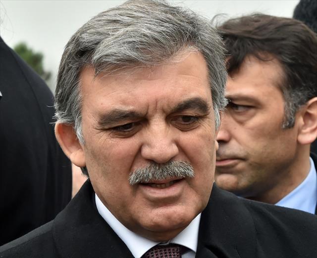 Abdullah Gül'den cemaat yanıtı
