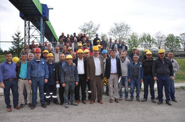 Yozgat Şeker Fabrikası işçileri 2 saat fazla çalışma eylemi başlattı