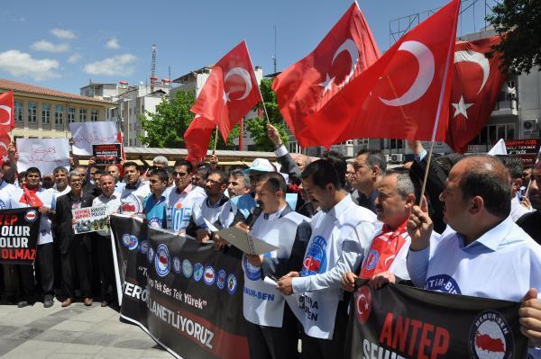 STK'lardan Gaziantep'teki terör saldırısına tepki