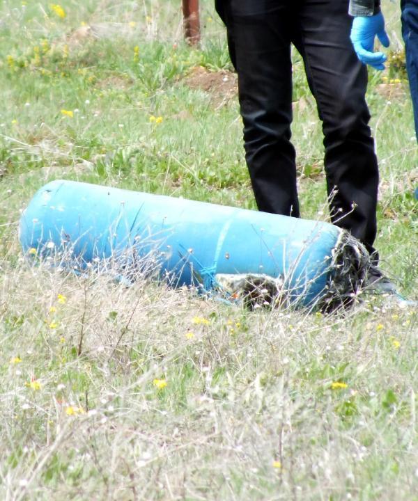 Cezaevi yakınına atılan su arıtma filtresi bomba paniği yaşattı