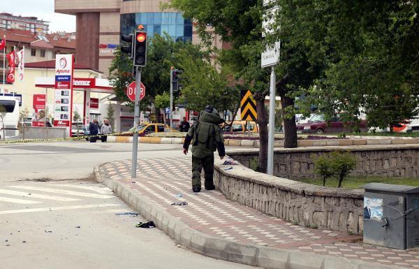 Yozgat'ta sahipsiz çanta fünye ile patlatıldı