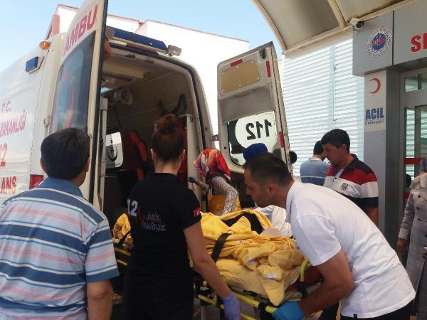 TIR'la çarpışan otomobilde 1 kişi öldü, 4 kişi yaralandı