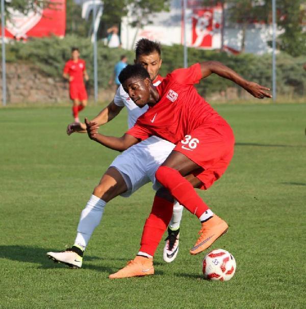 Balıkesirspor, hazırlık maçında Samsunspor ile berabere kaldı