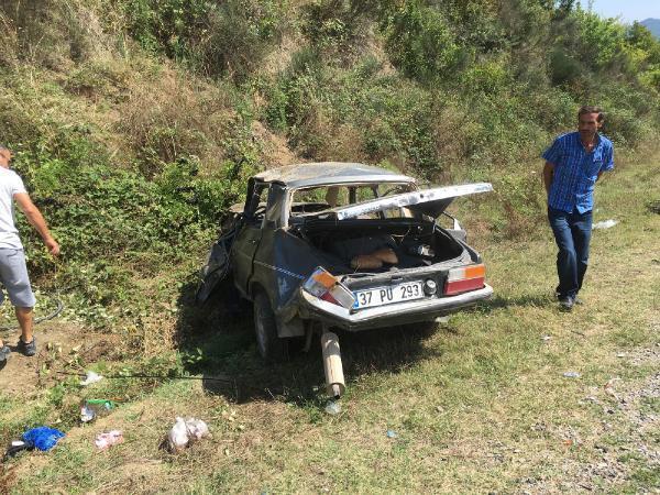 İnebolu'da kaza: 5 yaralı
