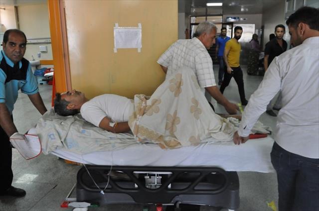 Cerablus'ta evine döndü, mayın basıp yaralandı