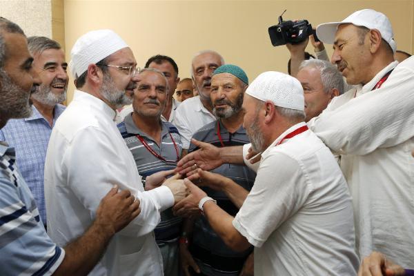 Diyanet İşleri Başkanı Görmez, Mekke Hastanesi'ni ziyaret etti