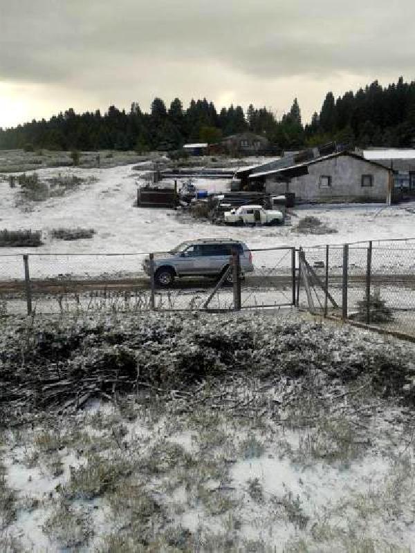 Bolu'ya mevsimin ilk karı yağdı