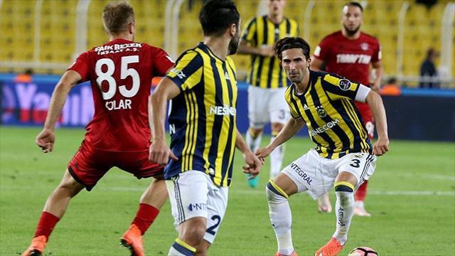 Fenerbahçe sahasında ilk kez kazandı
