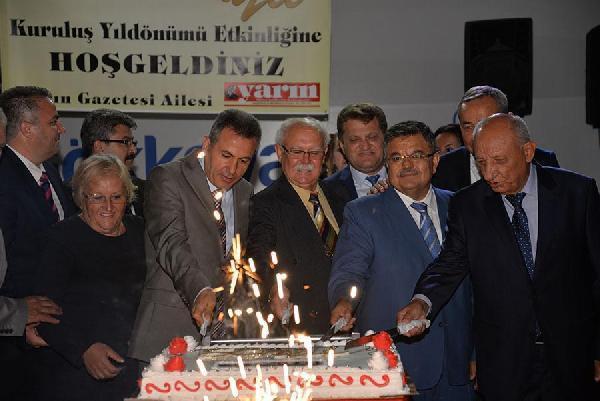 Bilecik Yarın Gazetesi 50'nci kuruluş yıldönümünü kutladı