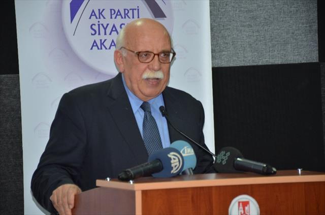 AK Parti herhangi bir siyasi parti değildir