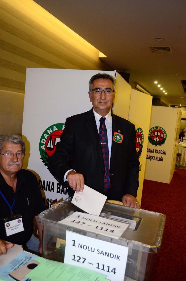 Adana Barosu'nun yeni başkanı Veli Küçük oldu