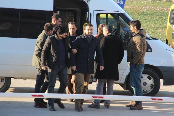 Edirne'de FETÖ'nün 5 'bürokrat abisi' gözaltına alındı