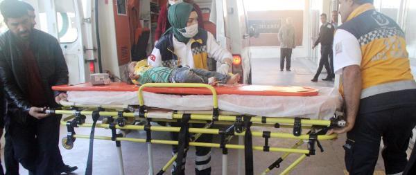 Haran'da, balkondan düşen çocuk ağır yaralandı