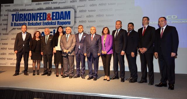 Rekabet gücü en yüksek İstanbul, en düşük Şırnak