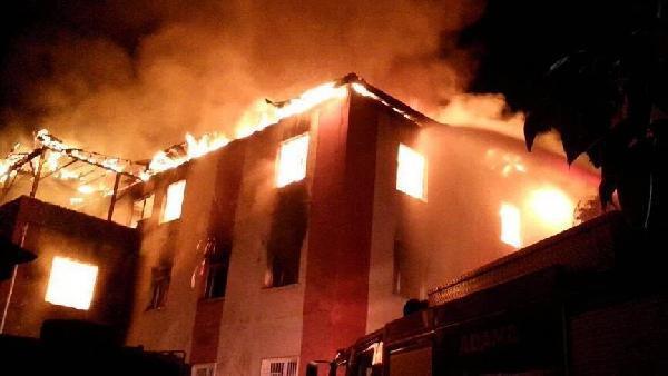 Aladağ'da yurt yangınında aileler şikayetçi (2)- yeniden