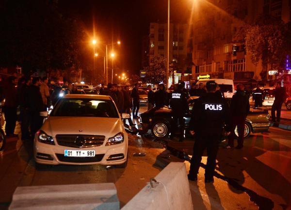 Adana'da trafik kazısı: 1 yaralı