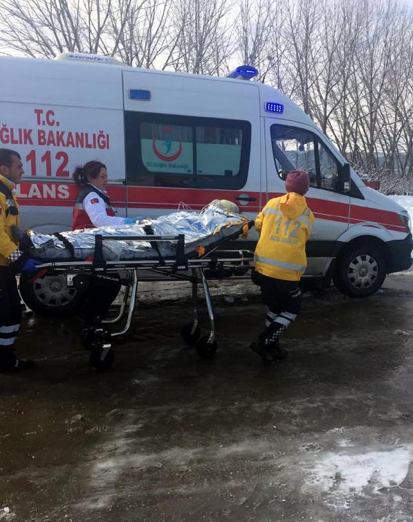 Sobaya dökülen tiner parladı: 4 yaralı