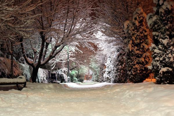 Yozgat'ta 110 köy yolu kardan kapandı