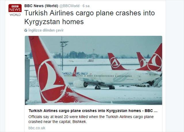 BBC'ye tepki: THY'ye algı operasyonu yapıyorlar