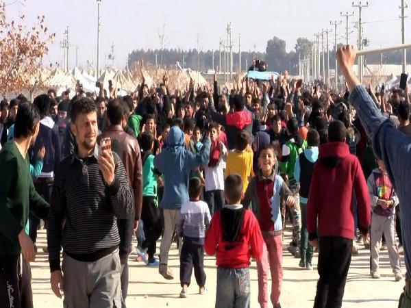 Suriyelilerin 'küçük çadır' tepkisi