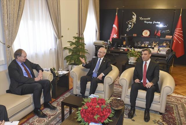 Kılıçdaroğlu, Christian Berger ile görüştü