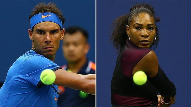 Nadal ve Serena Williams 3. turda