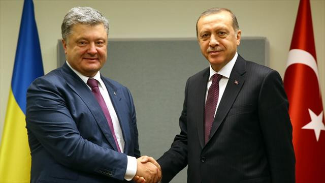 Ukrayna Devlet Başkanı Poroşenko'dan, Erdoğan'a tebrik mesajı