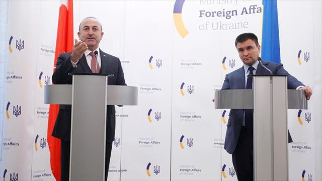 Dışişleri Bakanı Çavuşoğlu: Ukrayna'ya kimlik kartıyla seyahat için mutabakata varıldı