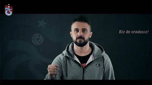Trabzonsporlu futbolculardan taraftara çağrı
