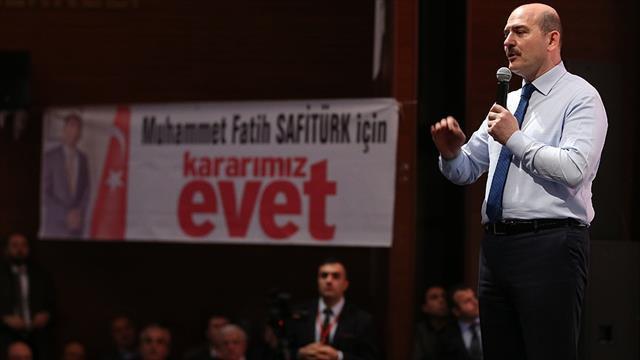 İçişleri Bakanı Soylu: Artık milletin borusu ötecek