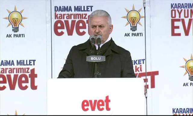 Başbakan Yıldırım'dan Almanya'ya tepki