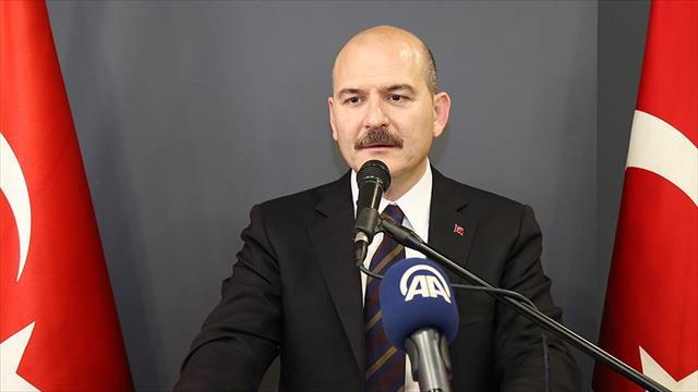 İçişleri Bakanı Soylu: Son 6 ayda 11 bı̇n 738 terör operasyonu gerçekleştirildi
