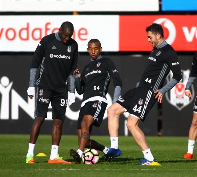 Beşiktaş'ın, Gençlerbirliği mesaisi sürdü