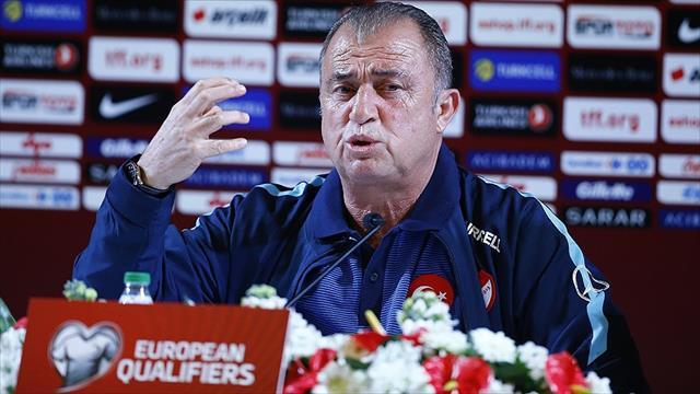 Türkiye Futbol Direktörü Terim: Ümit ederim iyi oynayarak 3 puanı alırız