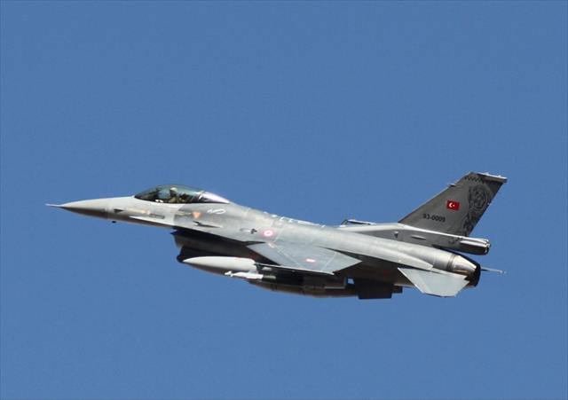 Irak'ın kuzeyinde 16 hedef imha edildi