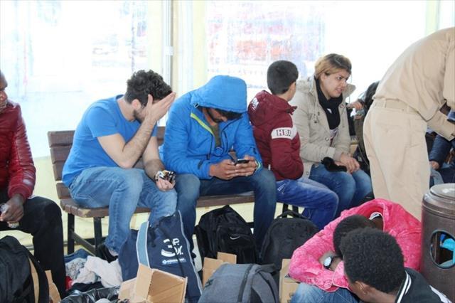 43 göçmen Sahil Güvenlik'ten kaçamadı