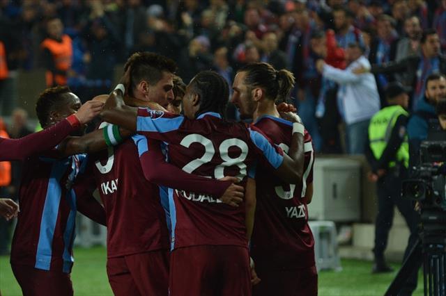 Trabzonspor deplasmanda 125 gündür yenilmiyor