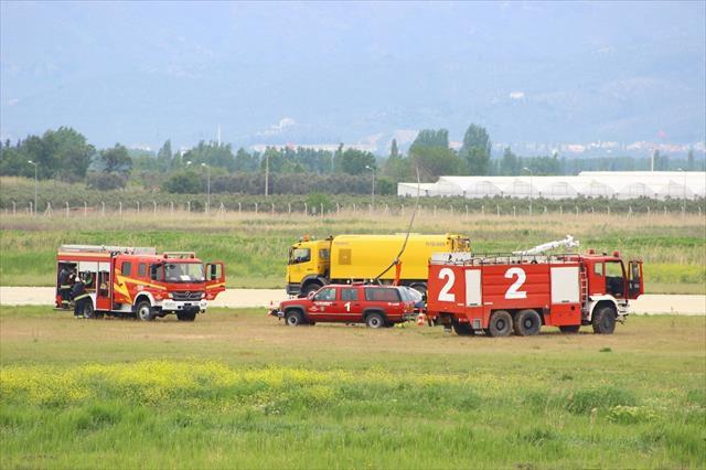 Edremit'te helikopter kazası