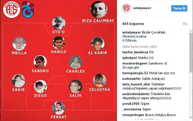 Trabzonspor maçı 11'inde yer alanların çocukluk fotoğrafları paylaşıldı