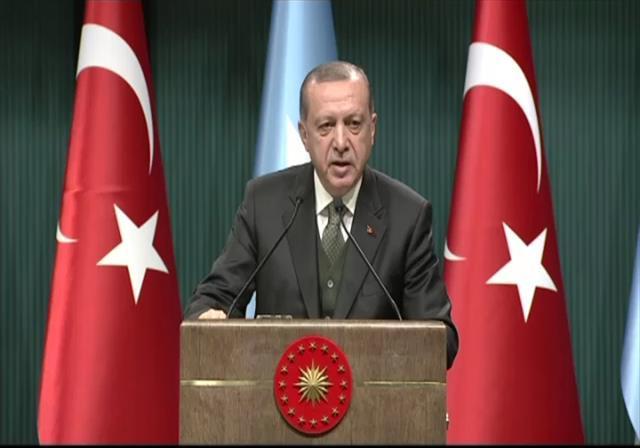 Erdoğan'dan Batı ülkelerine üç maymun benzetmesi